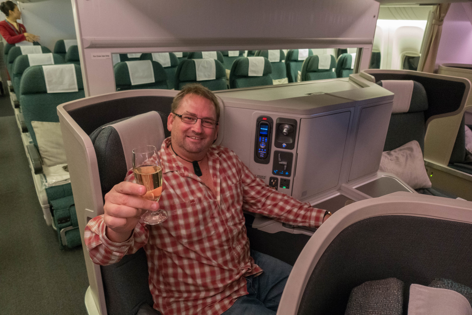 Cathay Pacific Premium Economy vs Business Class