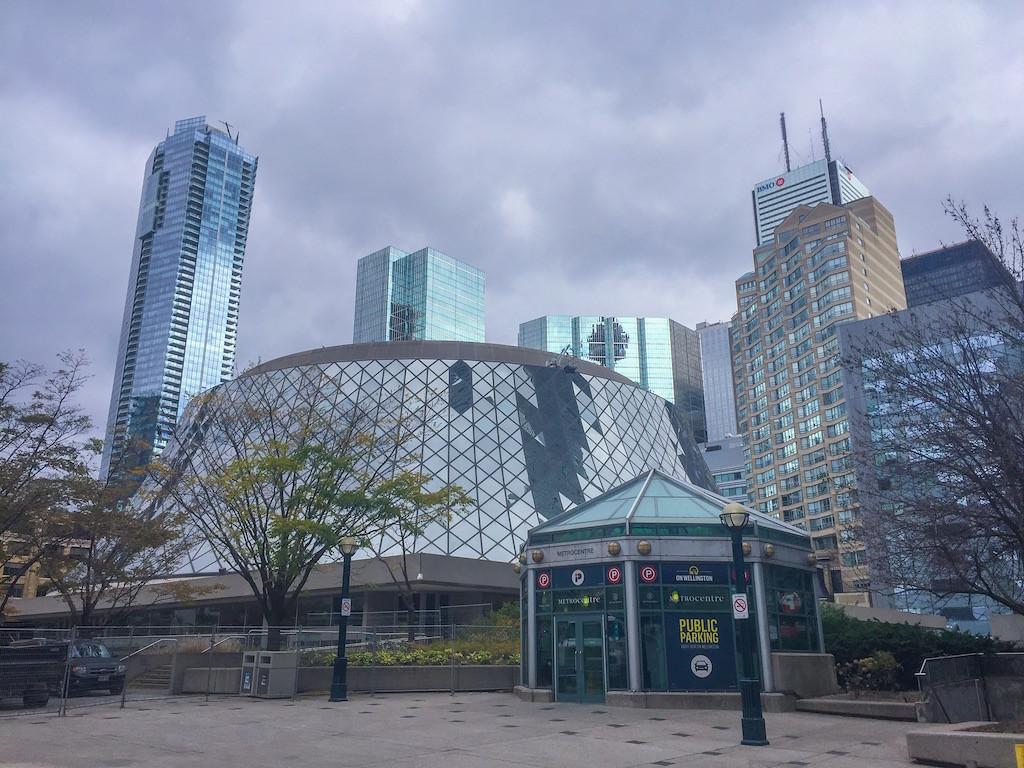 Roy Thompson hall near club carlson Toronto