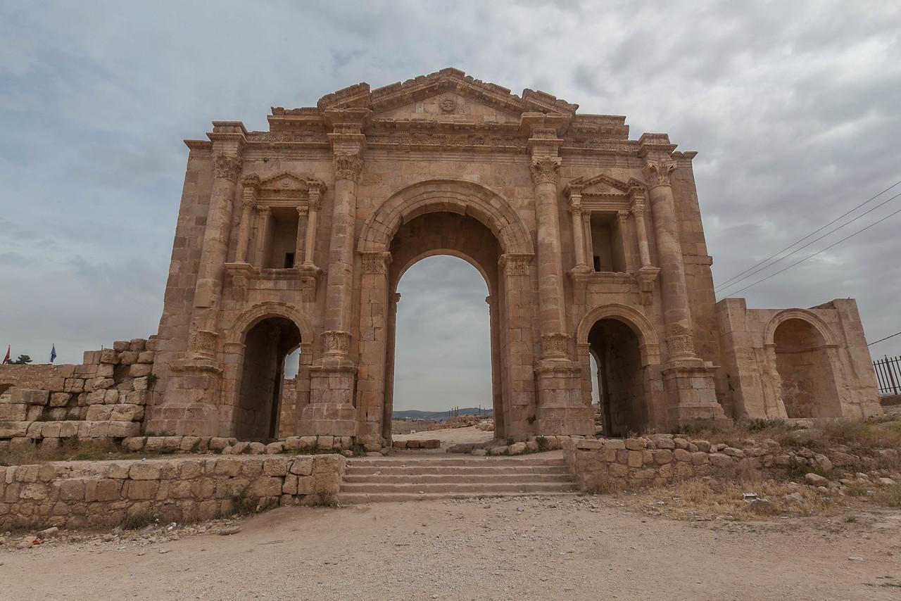 Jerash Hadrian's Gate