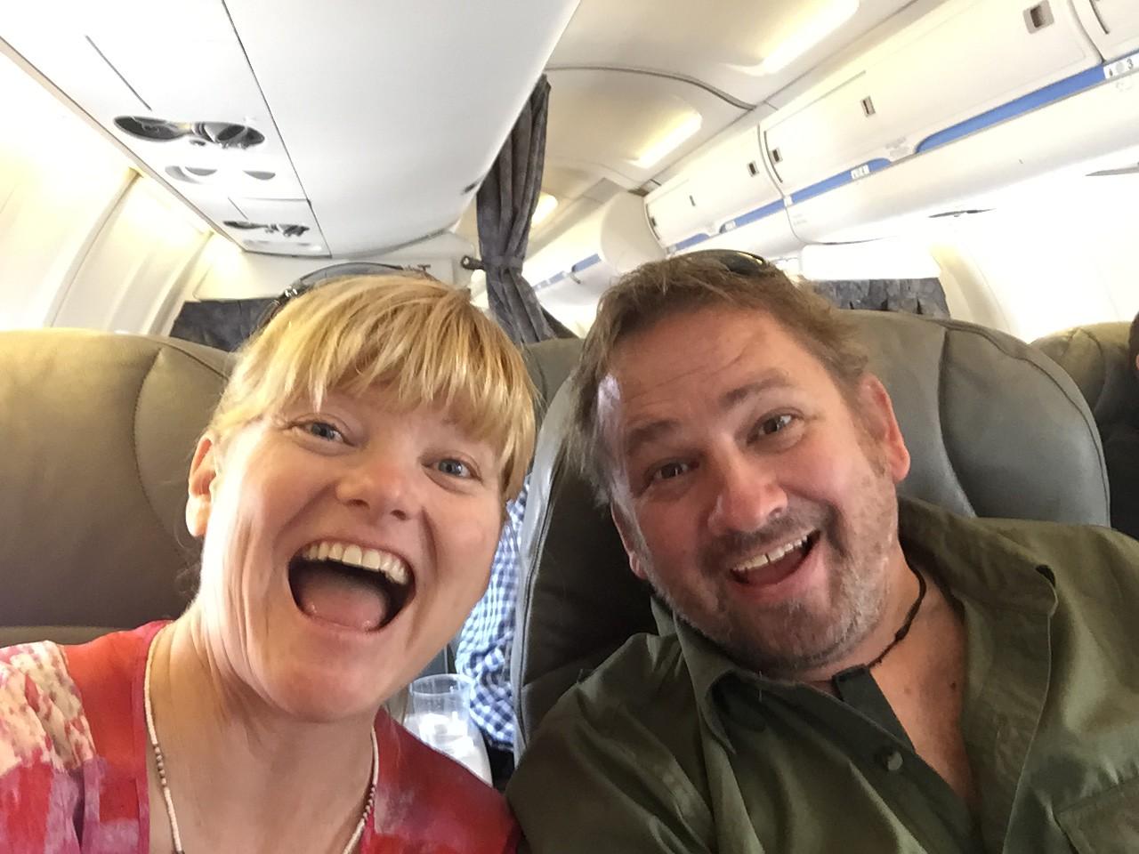 dave and deb air travel