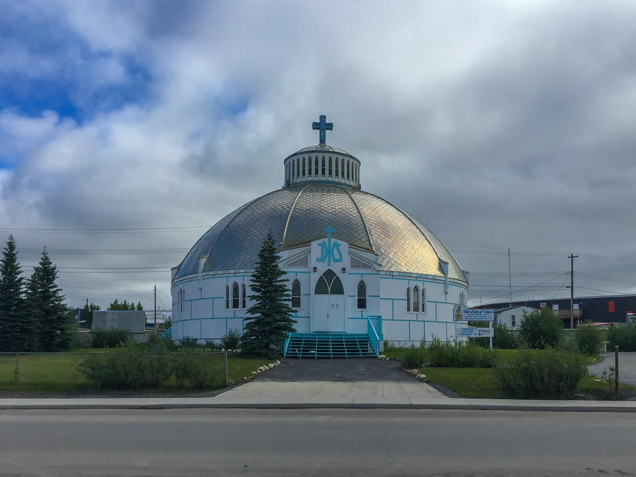 The small northern town of Inuvik, NWT.