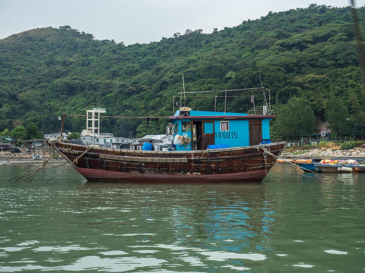 Hong Kong unk Boat