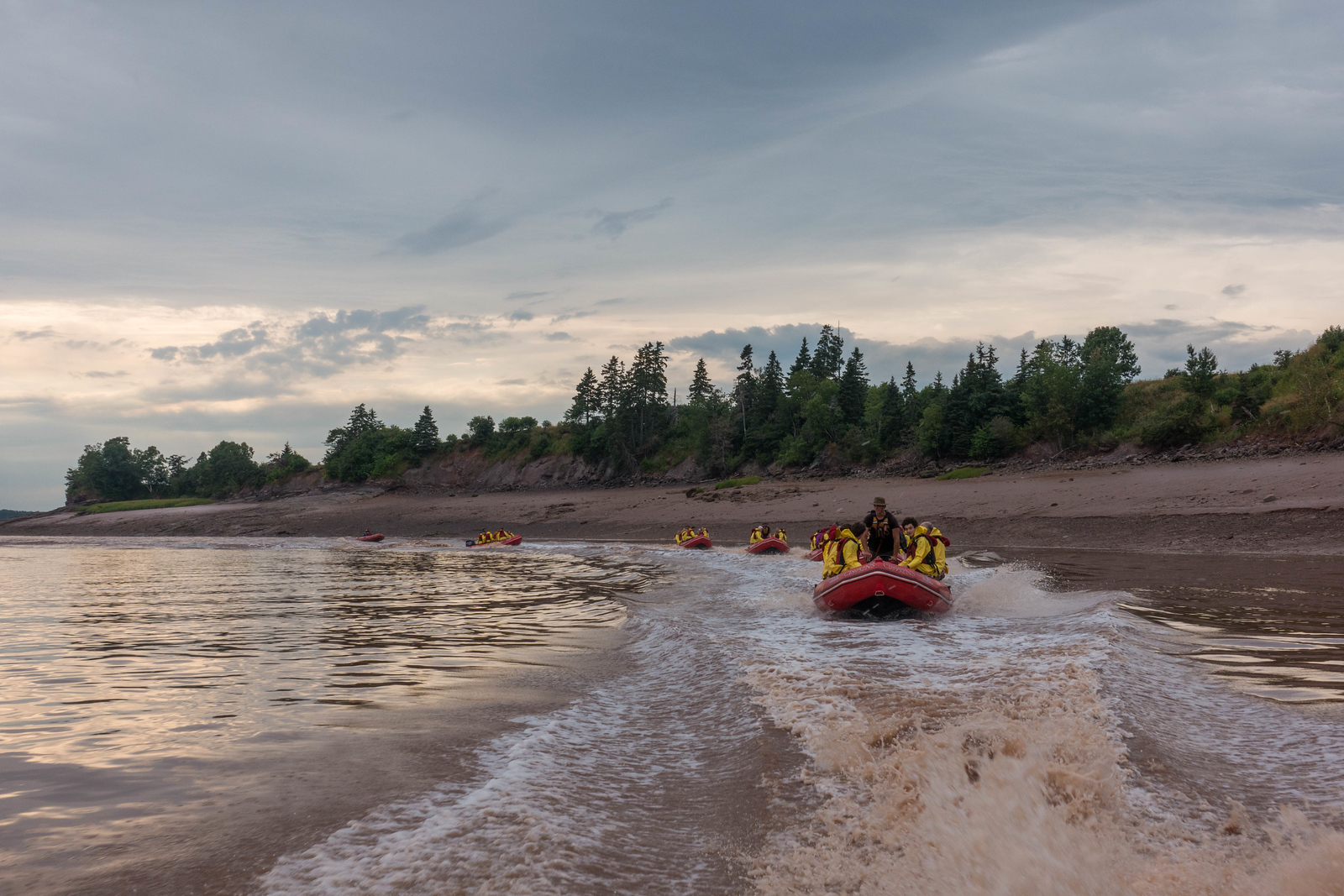Tidal Bore Rafting is a must do in Nova Scotia