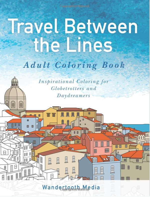 travel colouring book gifts for christmas