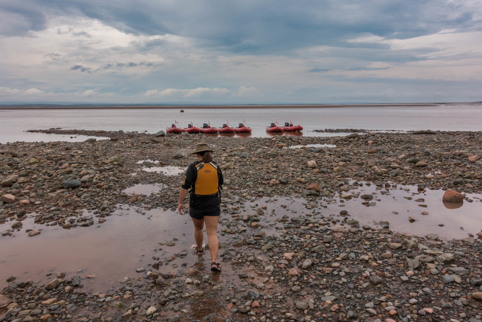 tidal bore rafting guide