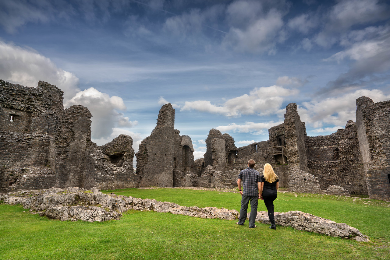 Carreg Cennen Castle wales photos