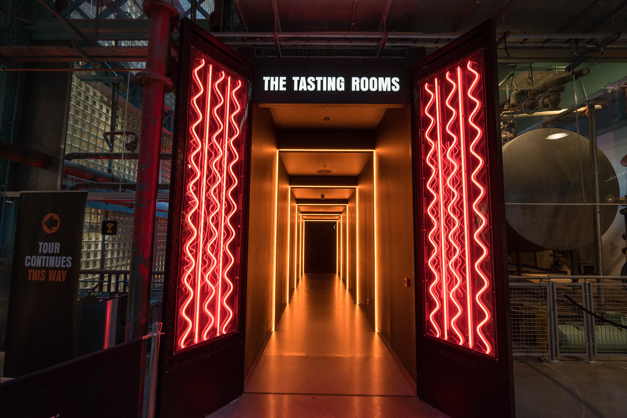 The holy grail of the Guinness Storehouse. The Tasting Room