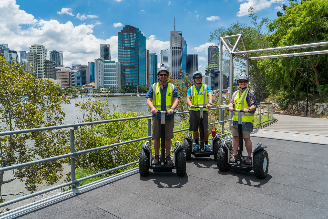 things to do in brisbane a segway tour with riverlife