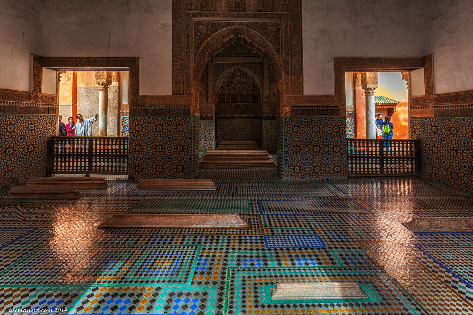 Visit the Saddian Tombs in marrakech