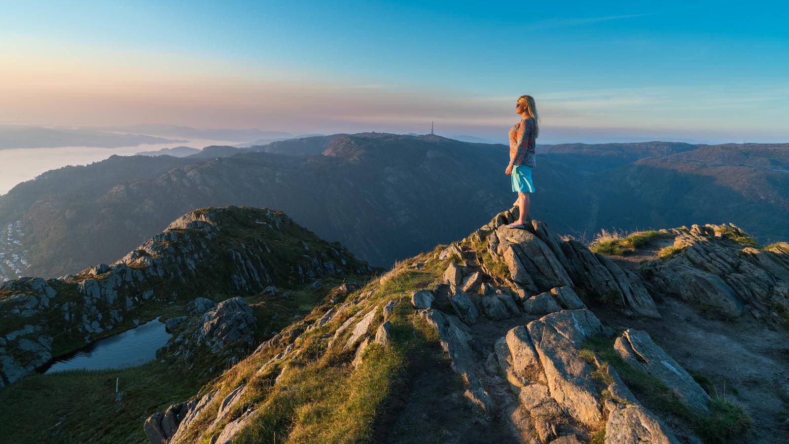 mount urliken bergen norway