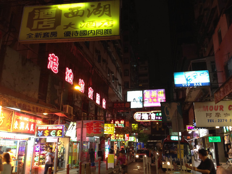 kowloon shopping streets