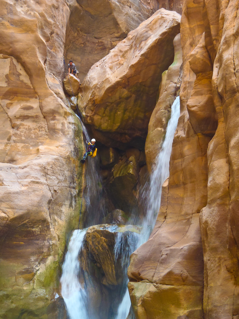 things to do in Jordan - canyoning