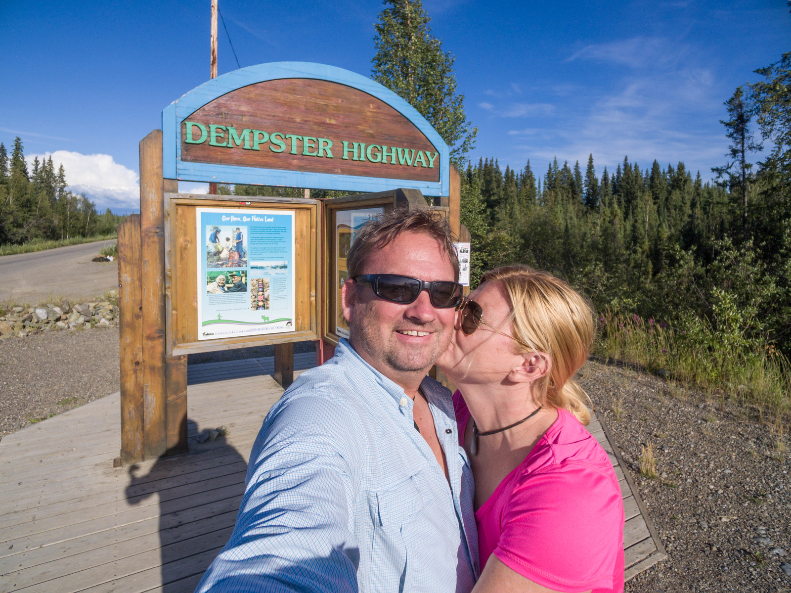 We drove the Dempster Highway!!