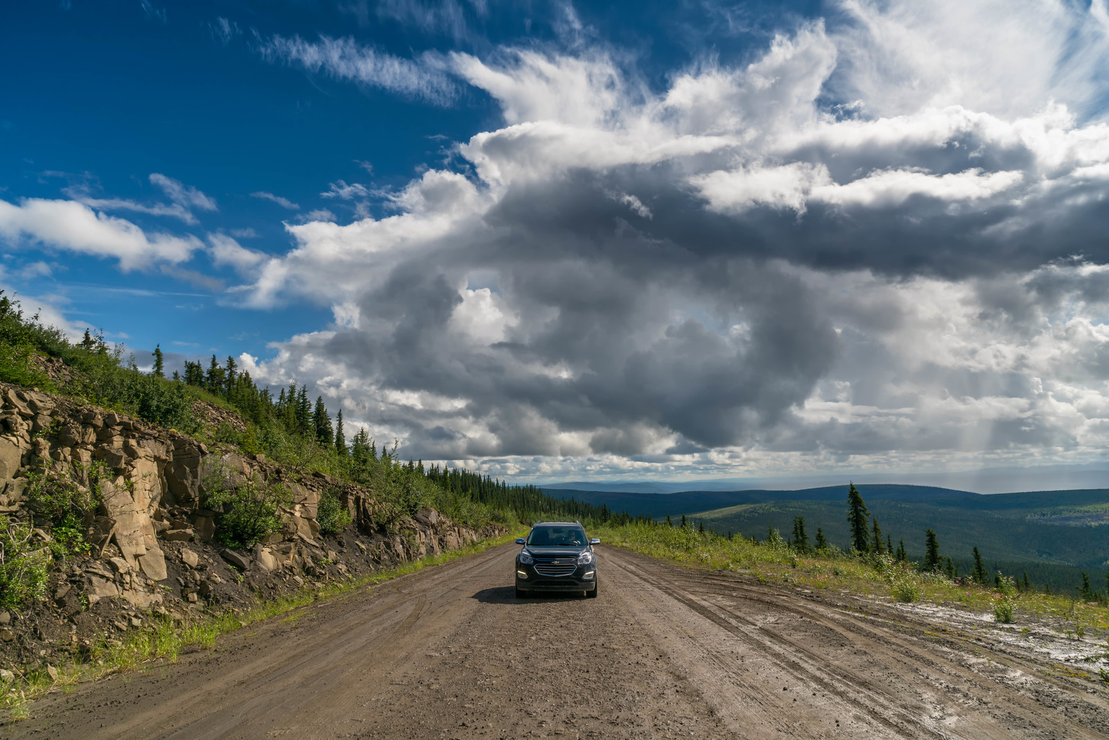 the dempster highway driving yukon
