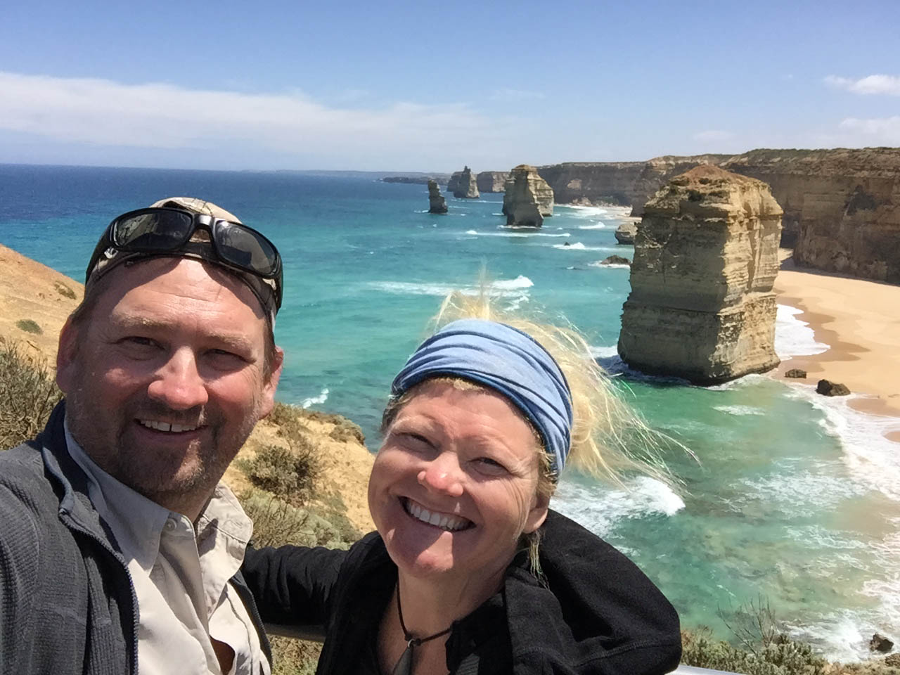You will be smiling at the end of the Great Ocean Walk