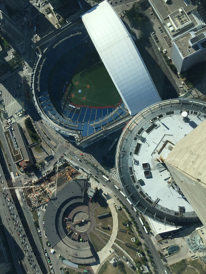CN Tower view of Rogers Centre