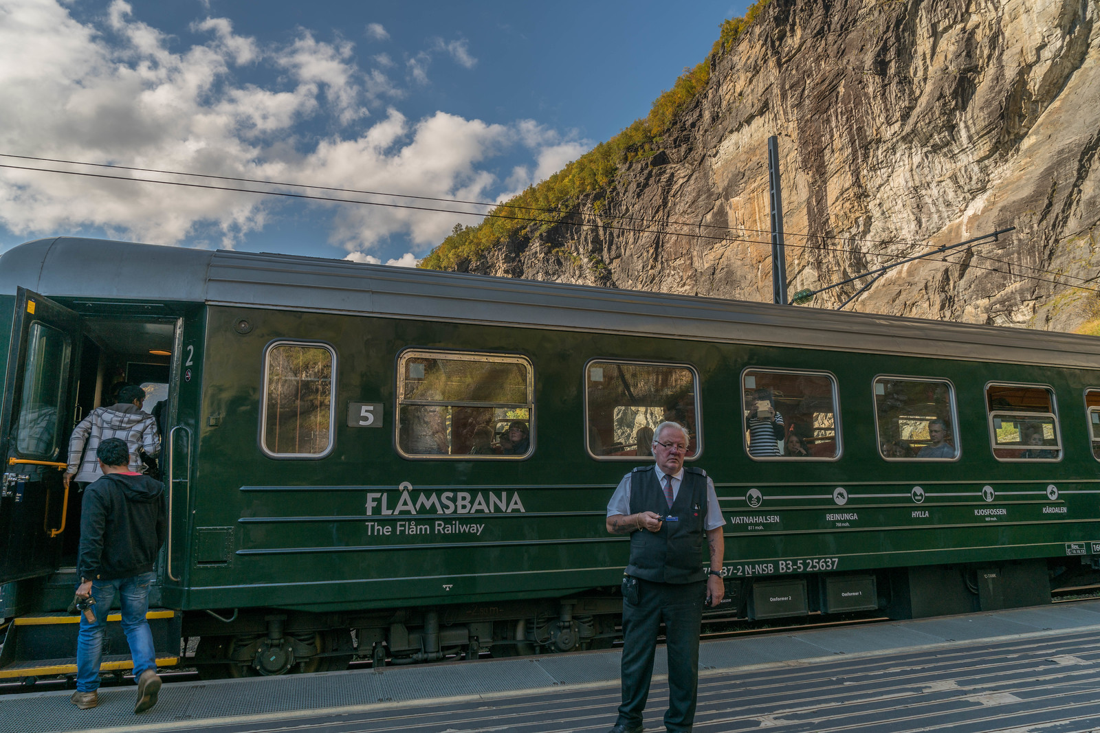 flam railway Norway in a nutshell