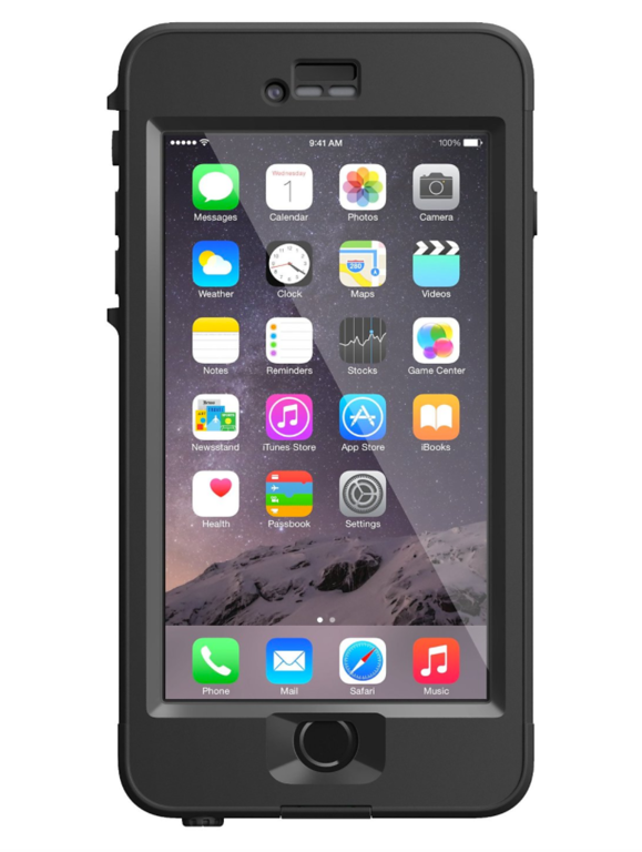 black lifeproof iPhone case gifts for men travelers
