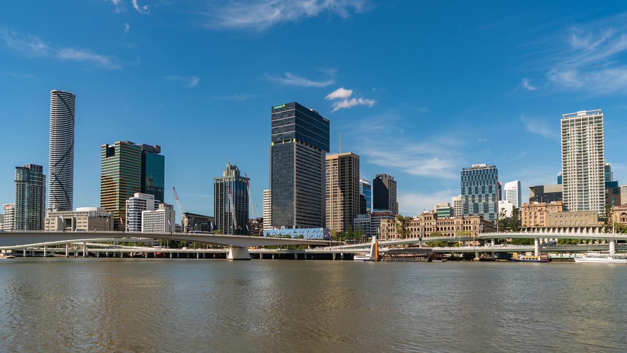 south bank of Brisbane