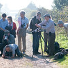 photographing the Long-tailed Blue at Whitehawk Hill, Brighton 4130