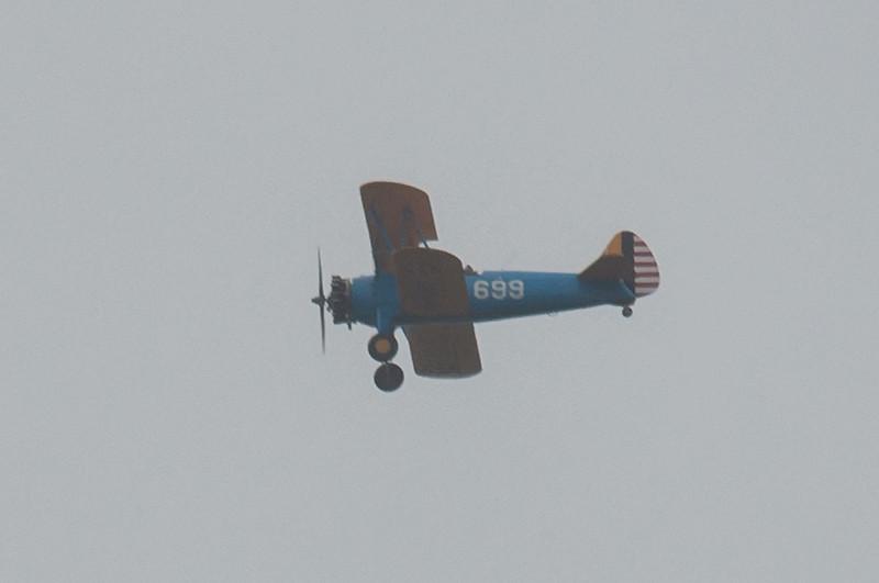 Boeing B-75N1 Stearman, G-CCXB  699 manflight 9870