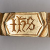 medieval iconographic ring 4335
