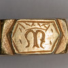 medieval iconographic ring 4338