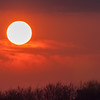 The Burgh sunset 2164