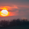 The Burgh sunset 2172