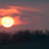 The Burgh sunset 2176