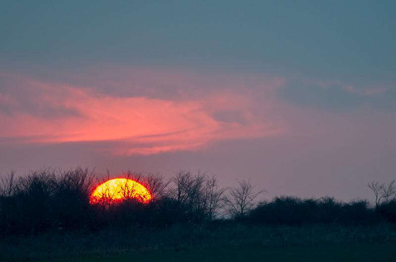 The Burgh sunset 2187