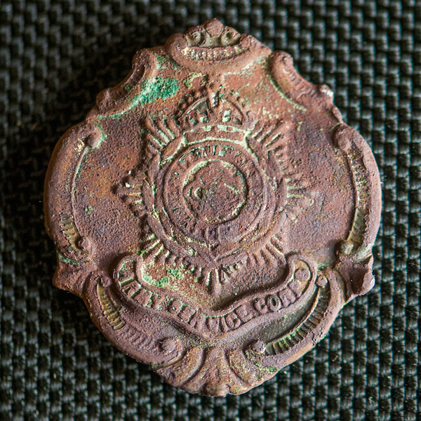 Army service corps cap badge c 1870-1918 detectingfind