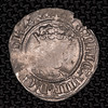 Henry VIII half groat obverse, Canterbury mint, Seaby SE2343 6204
