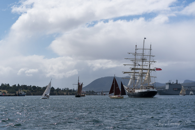 AWBF 2017 - closing sail past