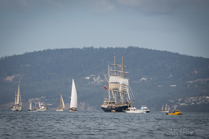 AWBF 2017 - Opening Parade of Sail