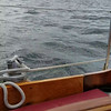 Autopilot working well in the swell