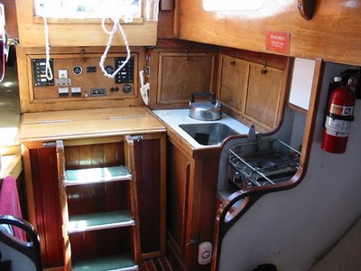 Galley + Engine Access