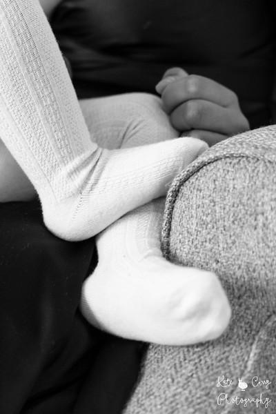 Toddler's feet, Glasgow