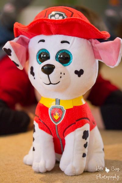 Marshall, Paw Patrol cuddly toy