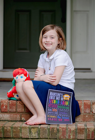2020 August First Day of School Madeline-5388 d