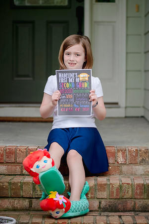 2020 August First Day of School Madeline-5375
