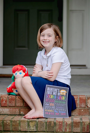 2020 August First Day of School Madeline-5388