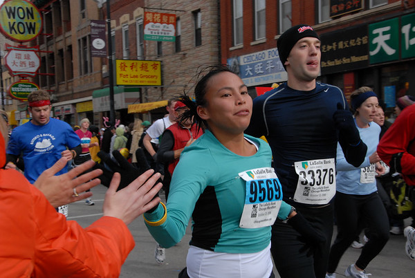 2006 Chicago Marathon, 11:05:20 - 11:37:20