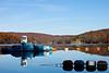 Wednesday November 4, 2009<br /> <br /> A dredger on Lake Zoar.