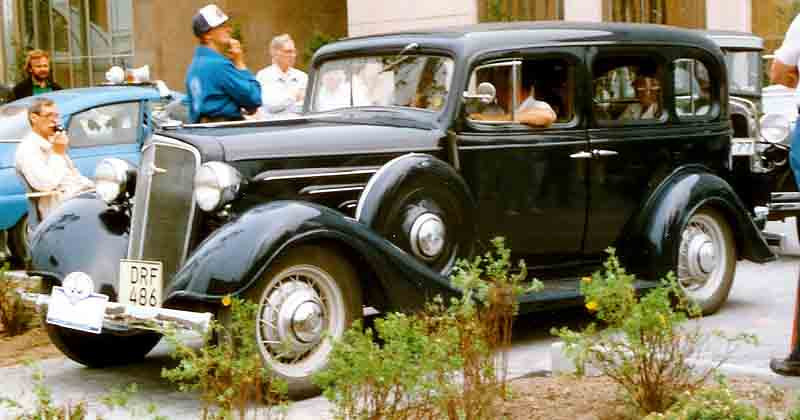 1934 Chevrolet Master Series DA 4-Door Sedan - Photo by Lars-Göran Lindgren - Used by permission
