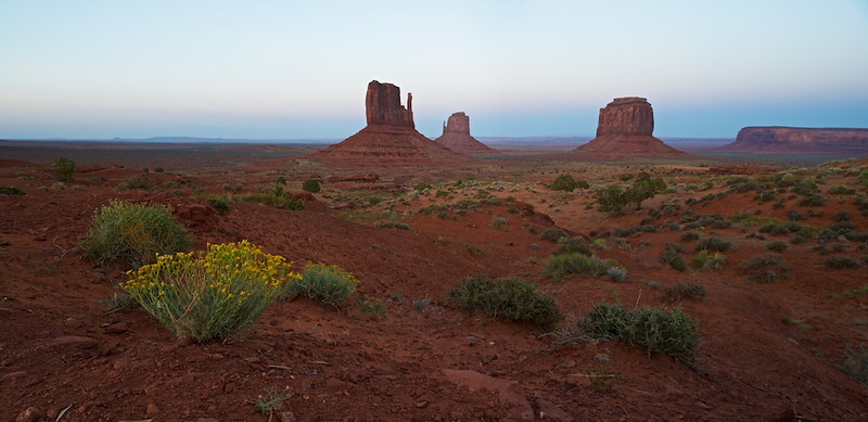 "IT'S ALL IN THE FOOT PLANT - 11 November 2012  Sunset - Monument Valley, AZ, File# 120023  <a href=""http://www.tom-hill.biz/Galleries/Scenics/Arizona/20957521_qZ7MZ7#!i=1865300463&k=vrSPkKw&lb=1&s=A"">  Link To Original Image </a>  As most of you know, I've been ""discovering"" this thing we call running for a couple of years now.  Just this past September I can say I've been running like I never run before which is saying I've been enjoying running like I've never enjoyed running before.  Before I used to hate running, now I really really like it.  What's up with that?    Since I'm an inquisitive kind of guy, I've been trying to figure out why, why am I enjoying running so much more that I used to.  It's easy to say I was highly influenced by the book Born To Run which touted the benefits of minimalist--i.e. barefoot--running.  While I haven't started barefoot running I have been running without large heels on my shoes typical of the running shoe industry for two years now.  As a result, I'm pretty happy with my running.  But, there's more.  If you're like me, a geek, it's easy to get lost in the details of the ""doing"" when it comes to running.  When you're out there you always think about everything; are my arms flailing, am I upright, are my knees forward, am I landing on my heels.  Who knows the number of body parts one can think of when out there running.  Yesterday I thought, is there one critical action, one component in the whole running stride thing that if done correctly will lead to everything else being more ""right"".    The theory I developed during my Skunk Works running program this morning was this; if you get the foot plant right everything else will figure itself out.  What does that mean?  It means when your foot hits the ground not too far forward, not too far aft, not on the heel, not on the toes, just springy, the rest of the body will figure itself out.  Of course, the body has to following along with enabling the foot to touchdown just right.  You can't have an upper body that's flailing incredibly while the lower is quietly touching down in a ninja kind of way.  The body is connected, you can't separate it.  If your foot's on the ground right, the rest of the body is probably doing something right.  Of course, I have no proof of this.  I'm the guesser/blogger.  I'm not the running expert.  I just comment on things I realize which doesn't really mean anything I bring up has real truth.  Someone else has to do the empirical exploration to see if this makes sense.  Still, there is a similarity of this foot-plant theory with other things I tout.  There are a couple of philosophical life concepts that fly in formation with this foot-plant theory, namely ""if you get your foundation right the rest of your life will follow along"".  In a ""life"" context, the foundation could mean a lot of real things.  It's probably more than simply where you put your feet.  It could be your values.  It could be your relationships.  It could be perspective.  It could be lots of things.  Still, it seems to make sense that if you get that ""core"" thing just right the rest of your life will likely follow along.  How does that work?  Well, lots of times we will try to do ""this"" or ""that"" with the hope it all works out.  ""if only I had that extra couple of grand, I'd be able to do something that'll make a difference"".  ""If only I had that car I would be happy for the rest of my life.""  In the context of what's core to life, that stuff is on the periphery meaning it won't make a hell of beans difference in your life.  Stuff like that might change the particulars/details of what might be going on but will it change the direction your life might be going?  Probably not.  You see, if you get that foot-plant right, the rest will follow along.  The details, the stuff is way less important than that core thing.  What's interesting is we spend so much time and effort fretting over the details of life.  Rarely do we interact with the core items to make sure they're pointed the right way and we're landing on them correctly--i.e. foot-planting correctly.  As I write this I realize I'm not even sure if we'd know how to check those core things to make sure they're right.  It's hard enough to identify the core things let alone making sure they're pointed in the right direction.  Still, having this conversation will at least shed light on something that needs light instead of being taken for granted.  A while back I talked with a friend of mine who loved to run but kept being injured by running activities.  The common thought was ""what's there to learn about running.  You just get out there and do it"".  Yet, the injuries persisted.  When our running discussions eventually focus'd on form and eventually how the foot hits the ground, the pains of running went away when those lessons were applied.  It seems for this friend, the most important feature was taken for granted--i.e. how the foot-planted--yet it was not quite right.  With a little attention to this core piece, things fell into place leading to a much better experience towards running for my friend.  Note, I'm not saying this is easy but I am saying the injury, the sharp pain parts, disappear when the core ingredient is going right.   What could happen if a similar approach could be done with life's basic, most important aspects.  It certainly shouldn't mean everything would be easy and effortless.  But, it might mean the angst and unproductive struggle would vanish.  That certainly sounds worthwhile, doesn't it?  The next time you go for a run instead of taking for granted what you're doing, think of what might be the most critical feature of your run.  Then, think how your experience of running would improve if you got that right.  Imagine the same thing being done to your life.  What could that be like?  The possibilities might be endless.  Cheers  Tom"