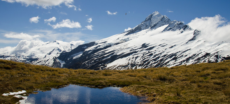 Mt Hooker from the Solution Range