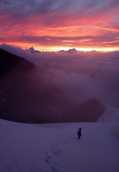 On the way up Mt Hooker. Photo Nick C