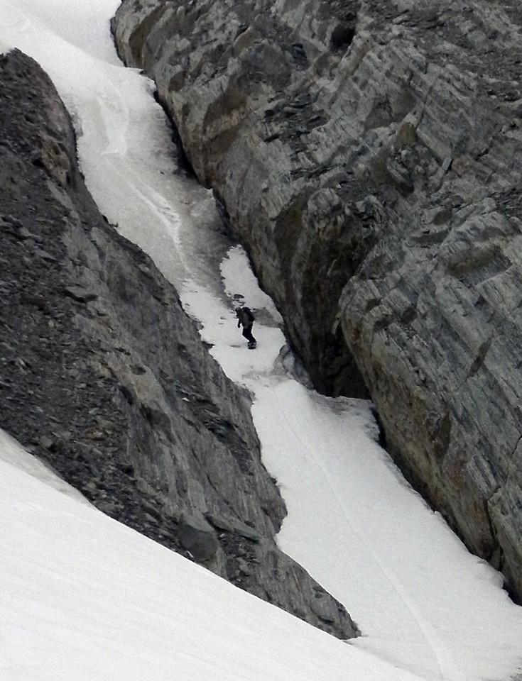 Riding Mt Hooker. Photo Nick C