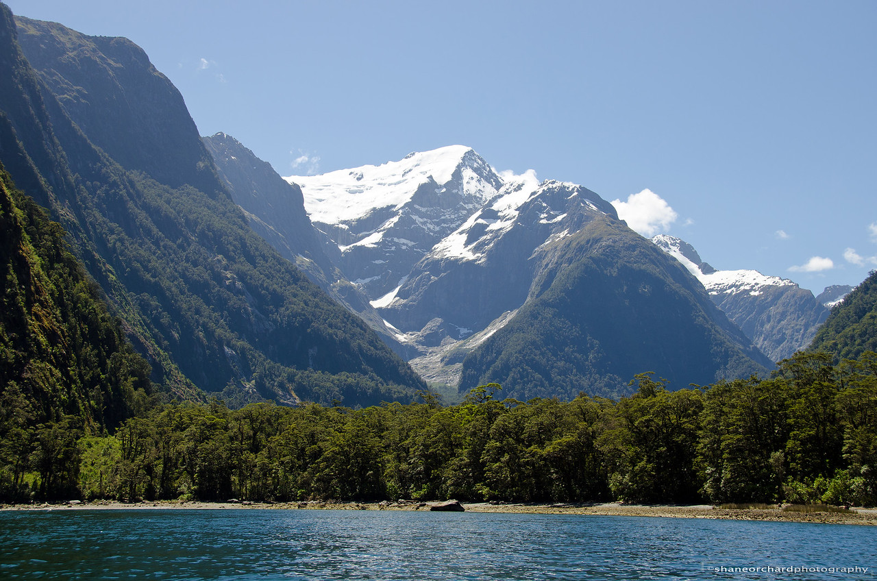 Mt Pembroke and Harrison Cove, Milford Sound